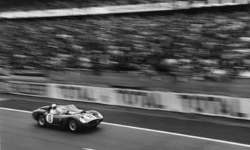 PACTO Carrera featured driving the iconic, 1960 Le Mans Winning, Testarossa