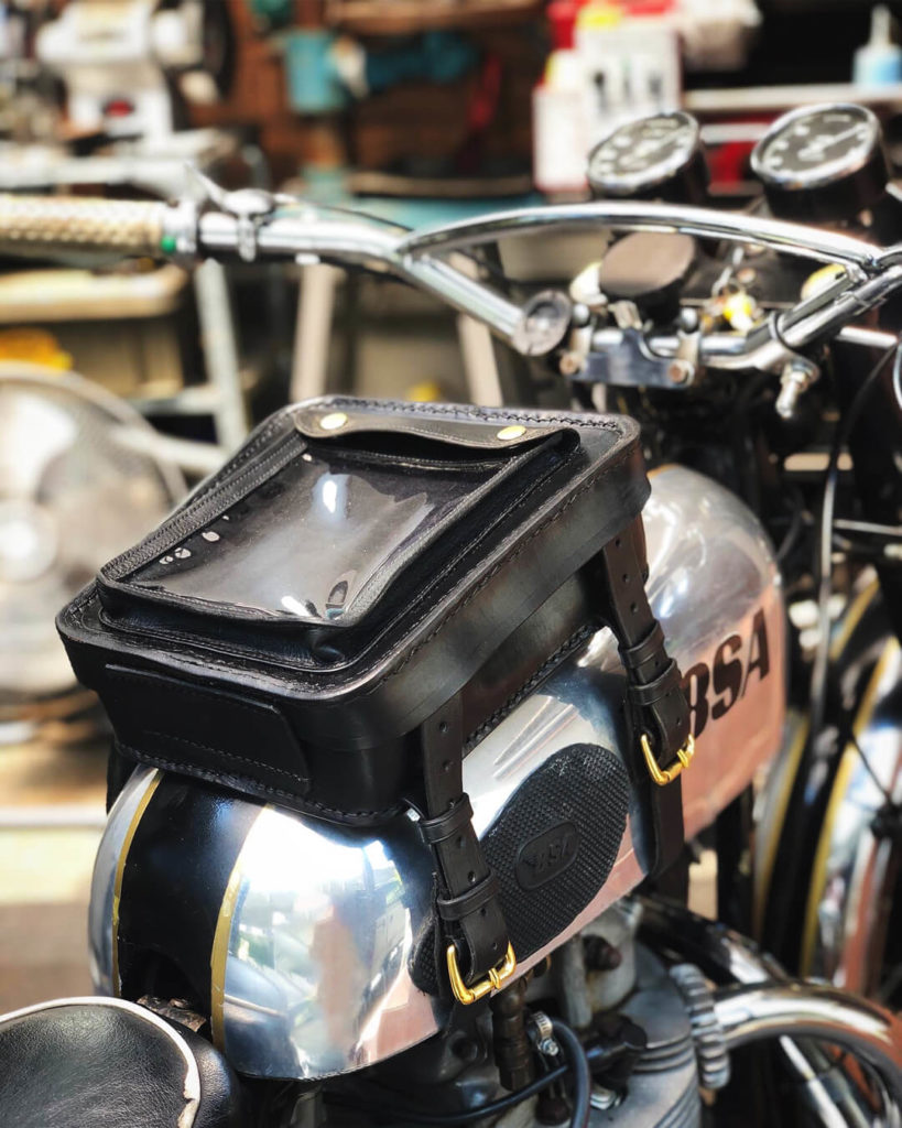 PACTO Leather Tank Bag